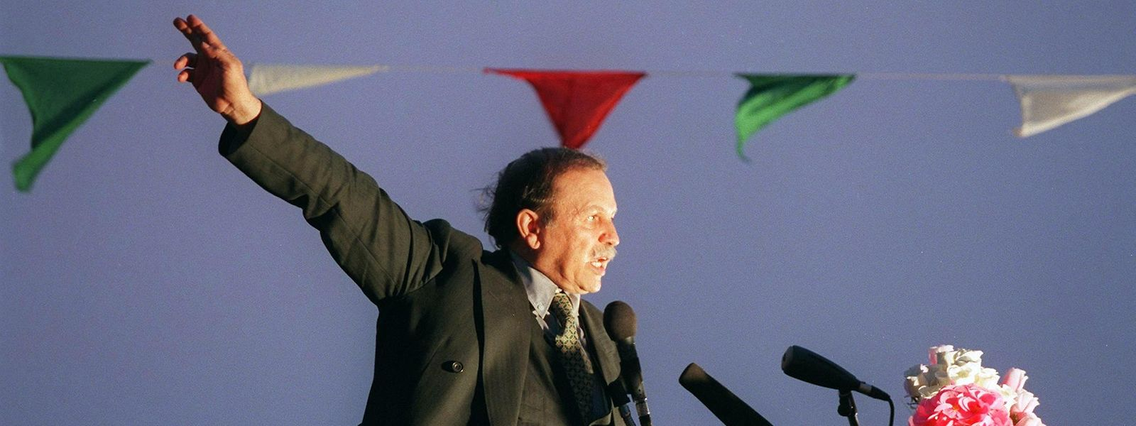 Abdelaziz Bouteflika im April 1999.
