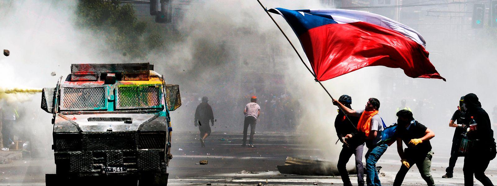 Wegen der aktuellen Protestwelle in Chile muss der Klimagipfel an einen anderen Ort ausweichen.