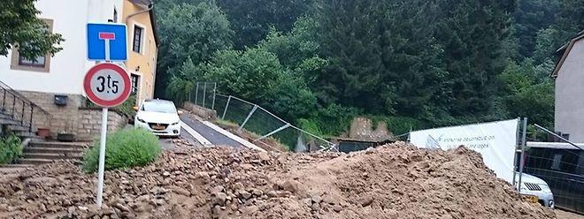 Viele Straßen in der Umgebung um Ersdorf müssen erst einmal gesäubert werden.