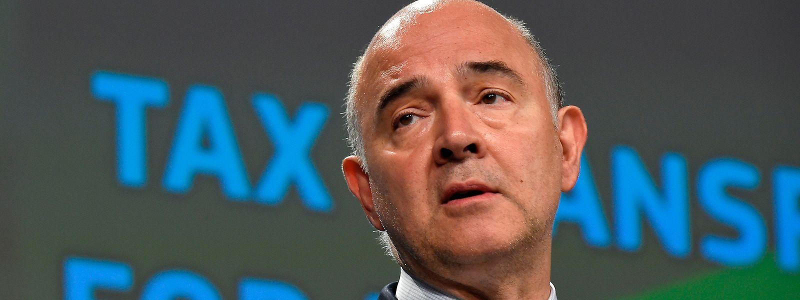 EU-Finanzkommissar Pierre Moscovici.