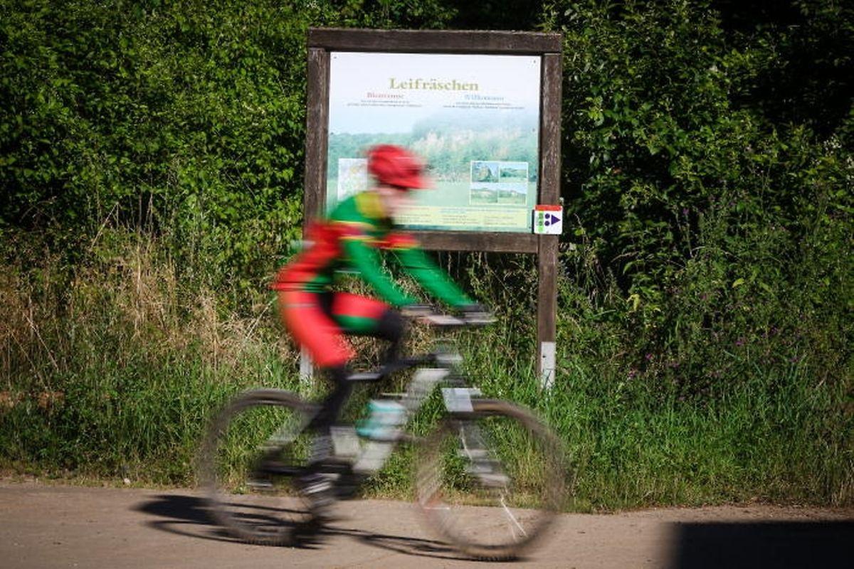 Mountainbikezähler sollen Auskunft über die Nutzung der Strecken geben.