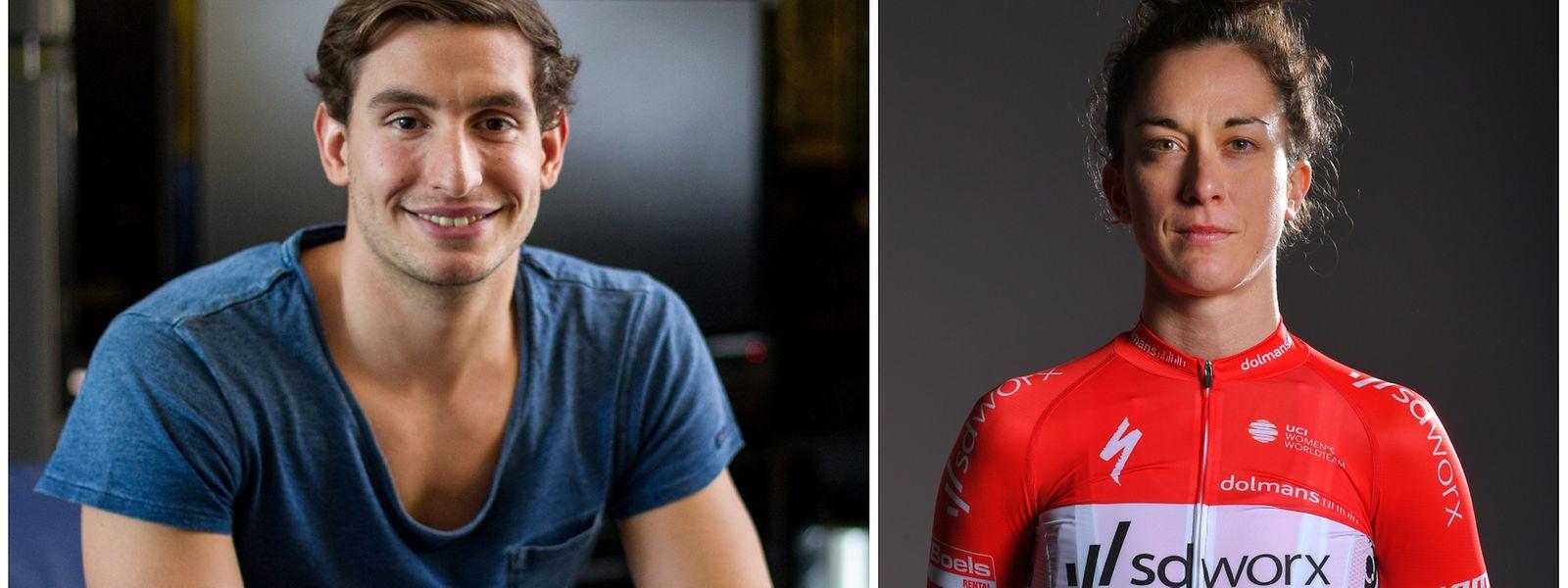 Les JO 2020 seront les cinquièmes de Raphaël Stacchiotti , et les quatrièmes de Christine Majerus.