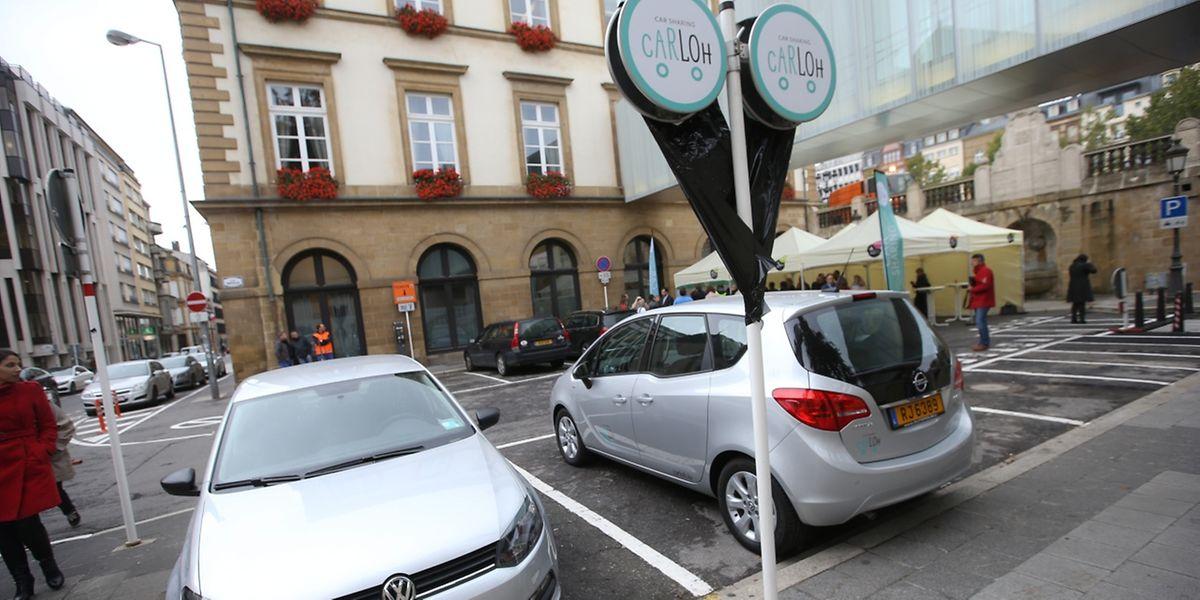 Carsharing A Luxembourg Dix Carloh A Dispo Des 5 Euros Par Mois