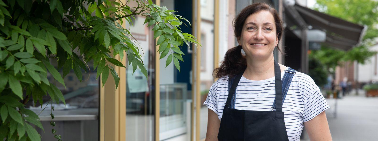 """Als Standort kam für Elisabeth Adams in Trier nur die beliebte Neustraße infrage. Eine Geschäftseröffnung in Luxemburg war für sie hingegen kein Thema – """"dort verlangt die Chambre des Metiers eine Ausbildung zur Konditorin""""."""