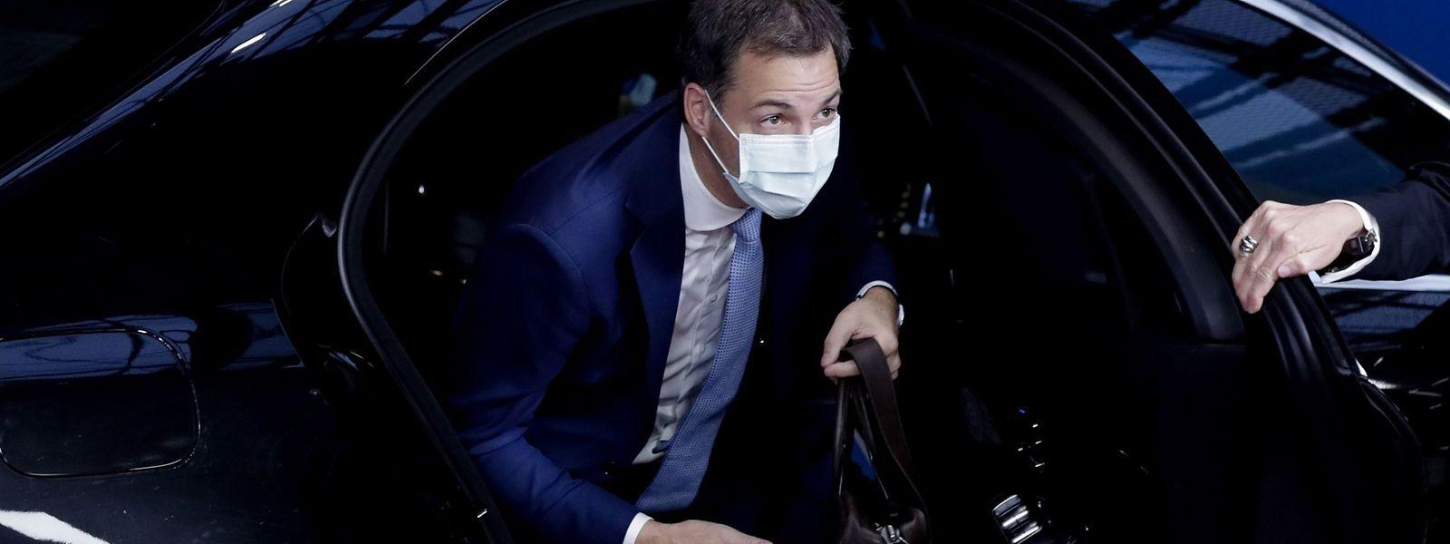 O novo primeiro-ministro belga, Alexander de Croo.