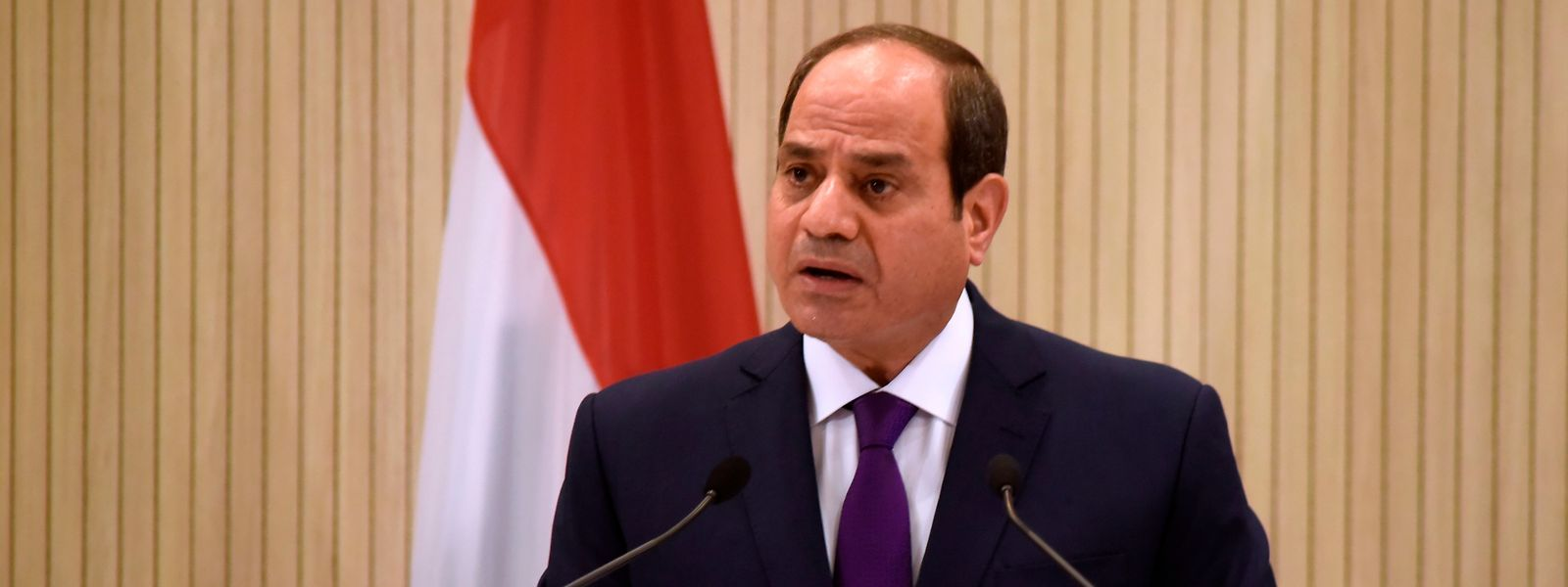 Präsident Abdel Fattah al-Sisi, der neue starke Mann in Kairo.