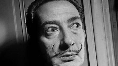 Salvador Dali dans les années cinquante.