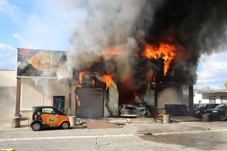 Das Restaurant Tutti Frutti wurde komplett zerstört.