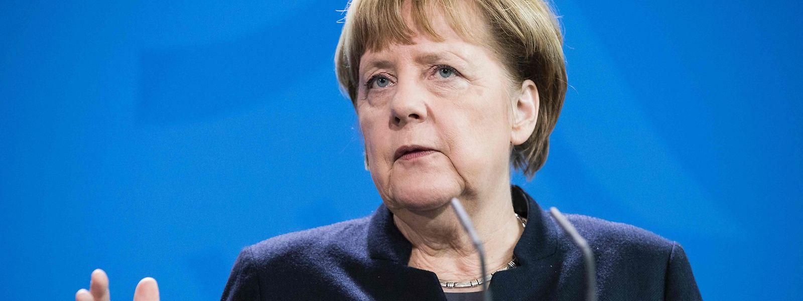 Angela Merkel rief ihre Partei zu einem engagierten Wahlkampf auf.
