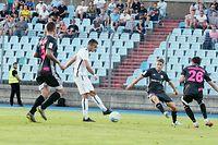 Fussball  Hinspiel der dritten Qualifikationsrunde der Europa League zwischen dem F91 Dudelingen und Nomme KALJU im Stade Josy Barthel am 08.08.2019 Danel SINANI (9 F91)