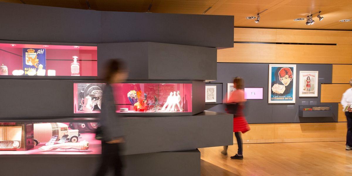Au musée de la Ville de Luxembourg, les visiteurs ont pu découvrir, entre autres, l'exposition La ville industrielle