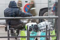 10.10. Caritas / Journee des Sans Abris /  Obdachlose Foto:Guy Jallay