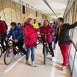 Eröffnung/Einweih. der Pont-Adolphe-Passerelle für Radfahrer (1 Seite mit allen Ereignissen)