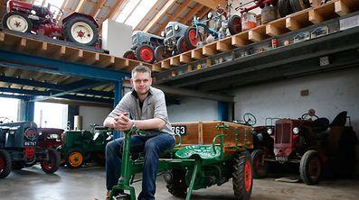 Mensch im Mittelpunkt - 30 Traktoren Zuhause, Oberdonven, le 23 Mars 2017. Photo: Chris Karaba