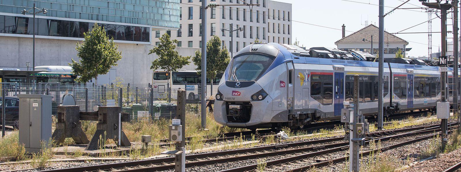 Chaque année, 4,5 millions de passagers relient Luxembourg à Thionville en train, selon les données des CFL.