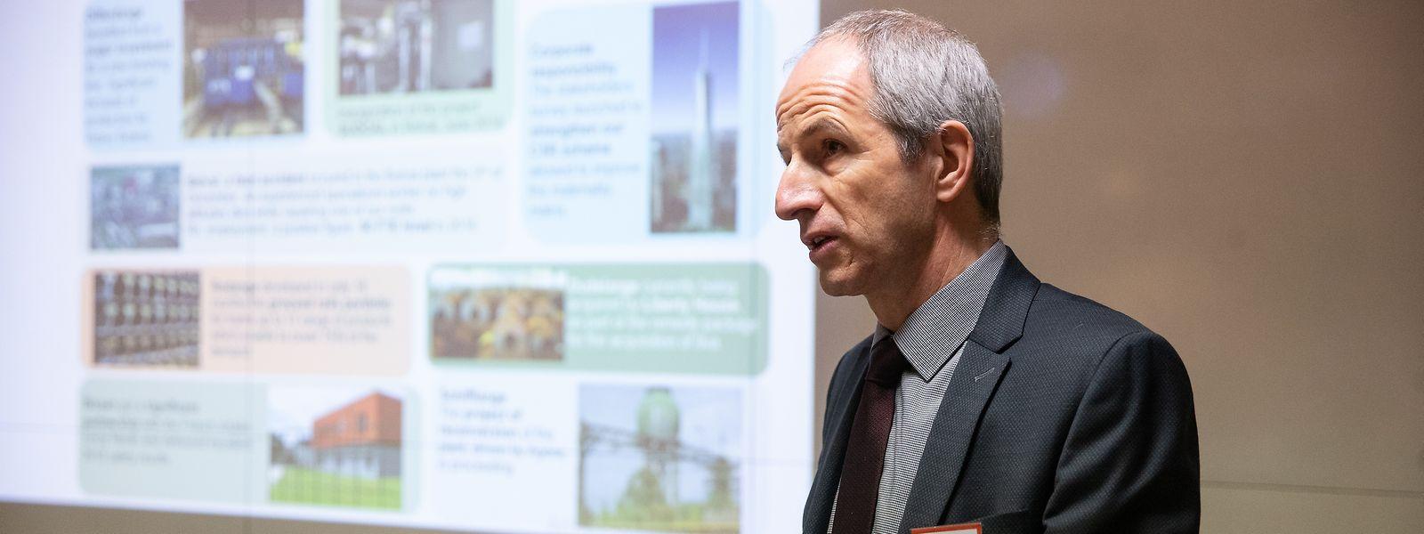 Roland Bastian, Chef von ArcelorMittal Luxembourg: Die Luxemburger Werke laufen