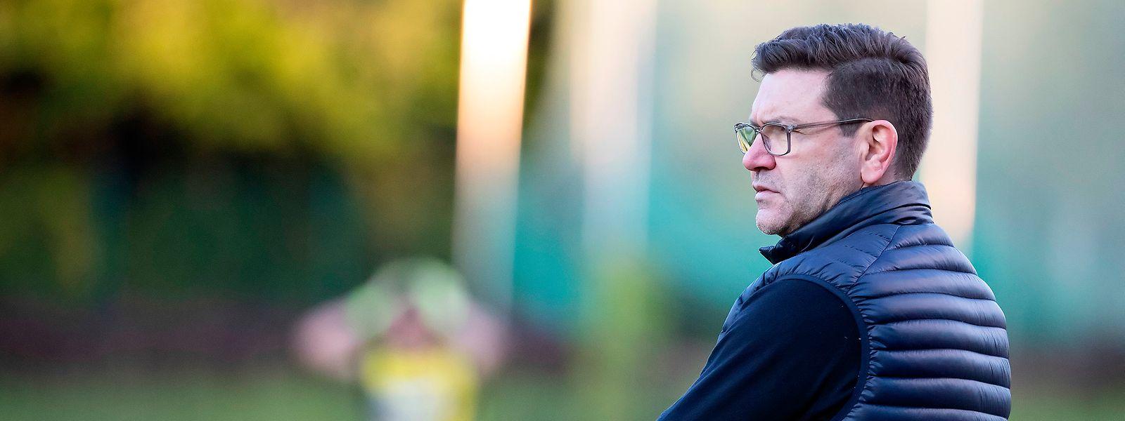 """Fola-Trainer Sébastien Grandjean: """"Wichtig ist vor allem, dass die neuen Spieler die richtige Einstellung an den Tag legen."""""""