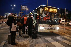 La SNCF annonce avoir mis en place 22 bus de substitution entre Thionville et Luxembourg depuis ce mardi matin.