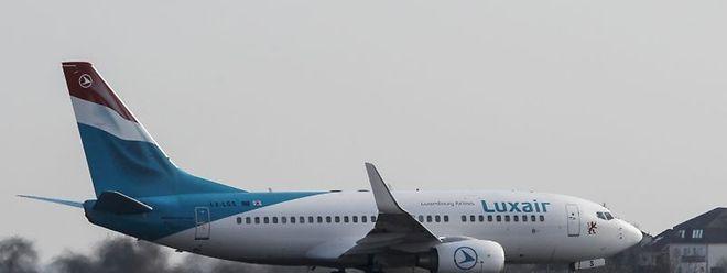 Luxair konnte innerhalb von zwei Monaten die Anzahl der beförderten Passagiere um neun Prozent steigern.