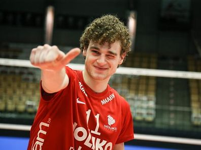 Kamil Rychlicki durfte sich am Samstagabend über einen weiteren Erfolg freuen.