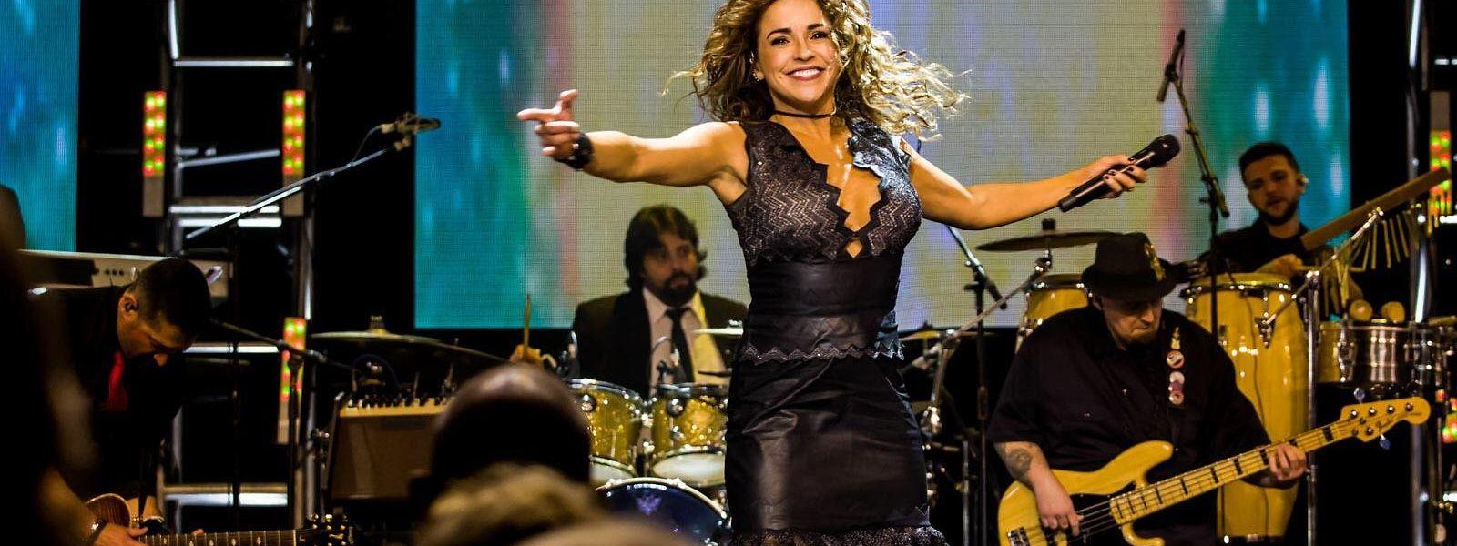 A brasileira Daniela Mercury foi uma das distinguidas da noite.