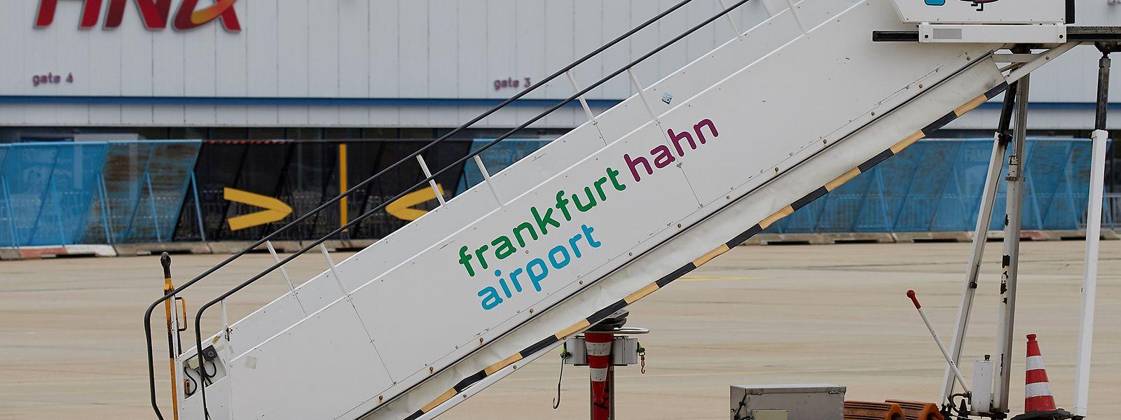 Die Passagierzahlen am Flughafen Hahn sinken weiter.