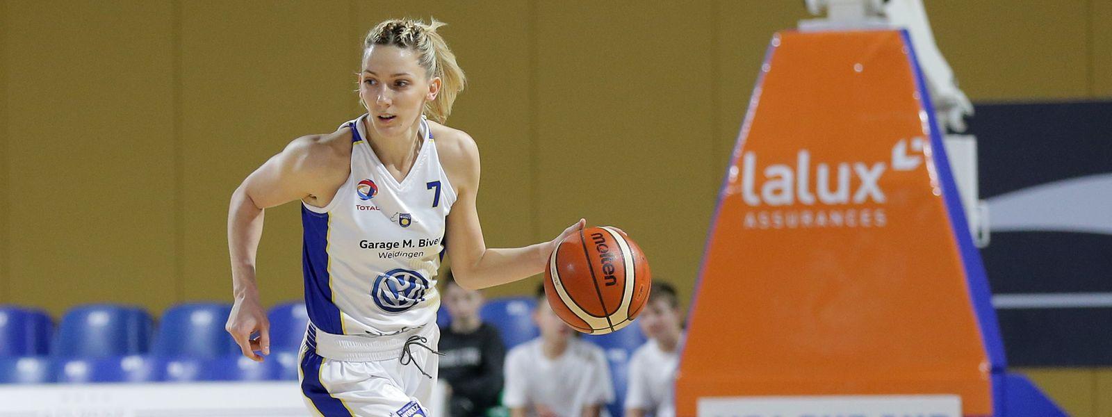 Jovana Jaksic spielt kommende Saison mit Wiltz weiter in der Nationale 2.