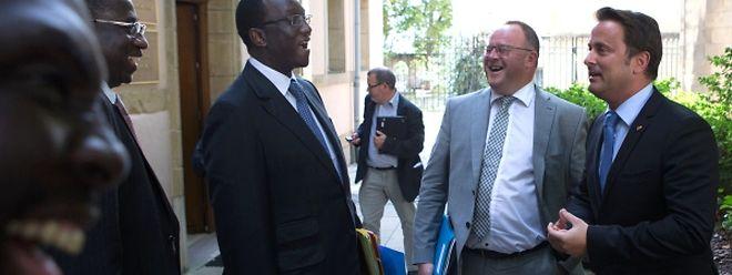 """""""Wir wollen luxemburgische Firmen anziehen"""", so der senegalesische Wirtschafts- und Finanzminister Amadou Ba."""
