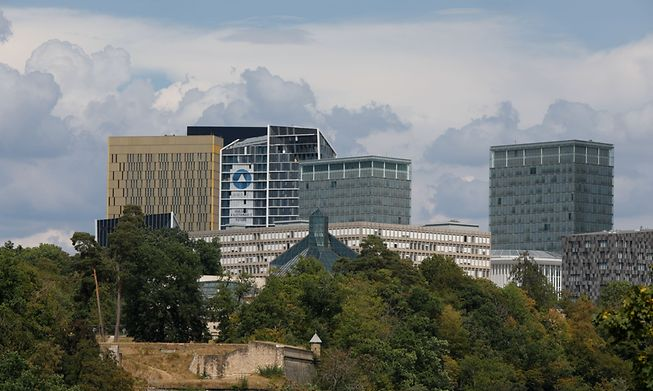 Kirchberg, Luxembourg's financial district