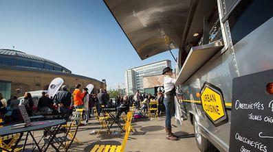 """Food Truck Festival """"Eat It!"""", organisé aux Rotondes en septembre, avait rencontré un énorme succès."""