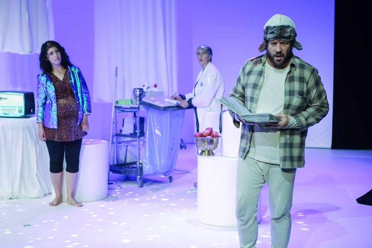 "Elisabet Johannesdottir's play ""How many moons, Dolores?"" performed at the Grand Theatre Photo: Bohumil Kostohryz"