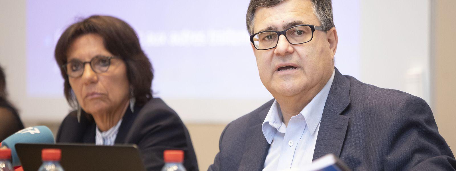 La procureure générale Martine Solovieff et son adjoint Jeannot Nies ont pris position vendredi dans le débat sur la protection des données.