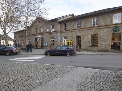 17.01.14 Geplante Baustellen fuer das Jahr 2014,Umbau Bahnhof in Ettelbruck.Gare. Foto:Gerry Huberty