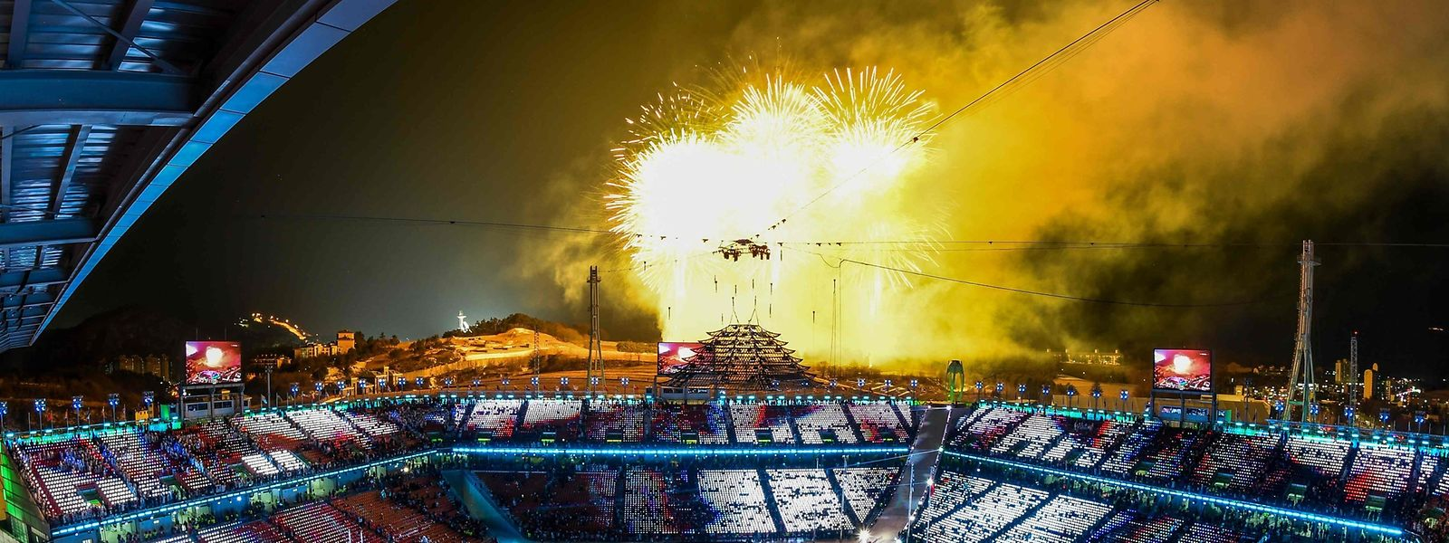 Mit einer Schlussfeier in Pyeongchang sind die 23. Olympischen Winterspiele in Südkorea zu Ende gegangen.