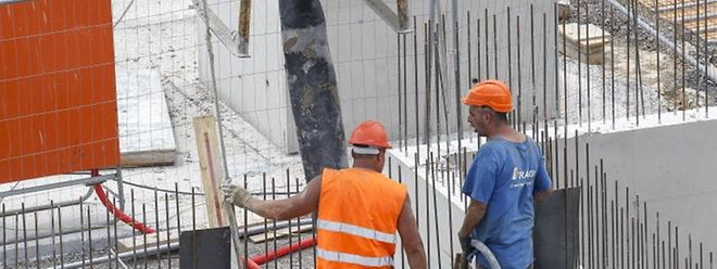 Im Bau verbesserte sich das BIP um 2,4 Prozent.
