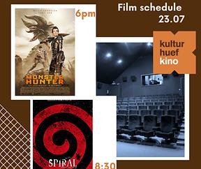 23.07.2021 | Filmprogramm | Kulturhuef Kino