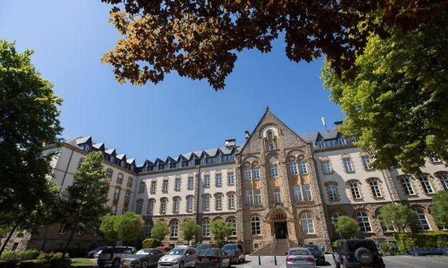 Limpertsberg is home to a university campus and several beautiful art nouveau buildings