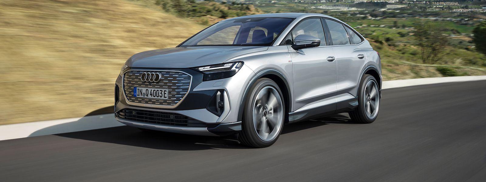 Das vollelektrische Modell Q4 e-tron (hier: Sportback) steht für den Einstieg des deutschen Autoherstellers in die Premium-E-Mobilität im Kompaktsegment.