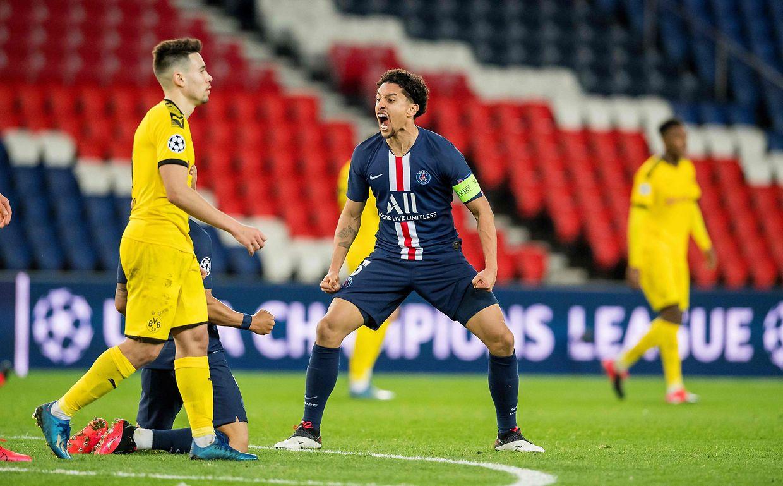 Emmené par un Neymar inspiré et un siolide Marquinhos, le PSG a refait son retard et battu Dortmund 2-0 pour rallier les quarts de finale de la C1.