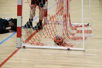 FLH Handball Spielzeit 2020-2021 Meisterschaft der AXA League der Männer zwischen der Red Boys Differdingen  und dem HB Dudelingen in Differdingen Niederkorn am 06.03.2021 Schmuckbild
