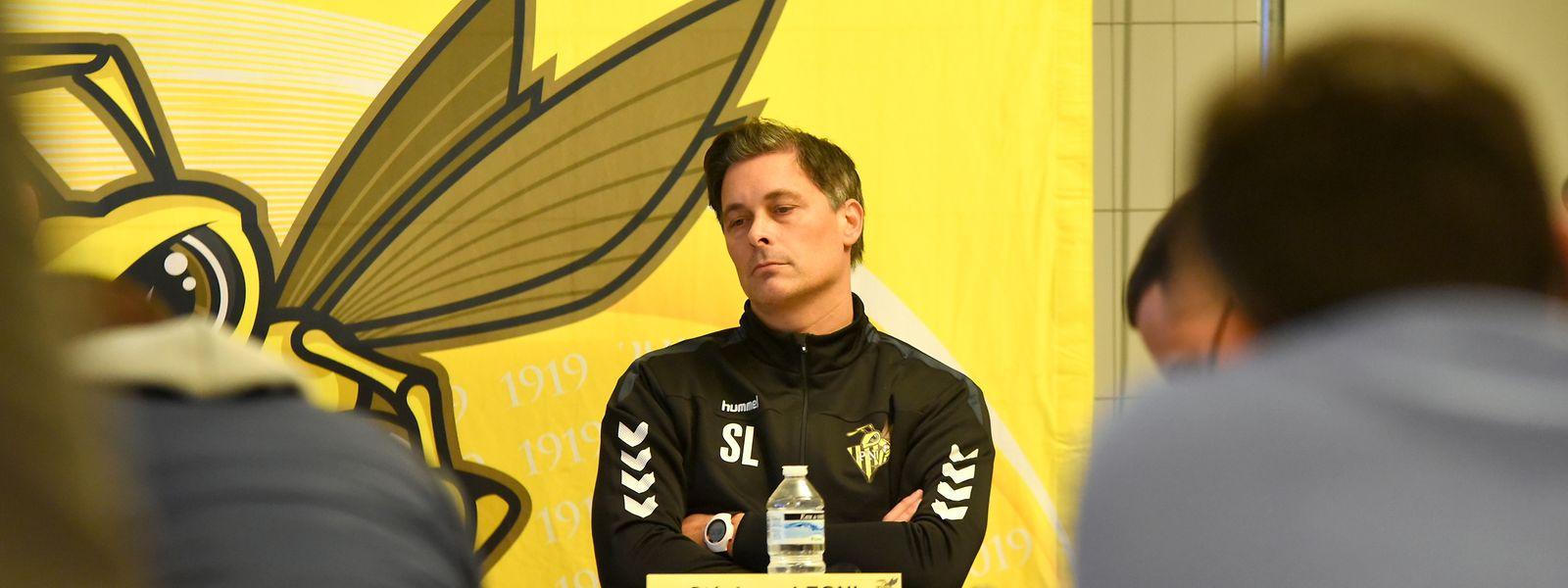 Niederkorn-Coach Stéphane Léoni wird erst im kommenden Jahr an der Seitenlinie stehen.