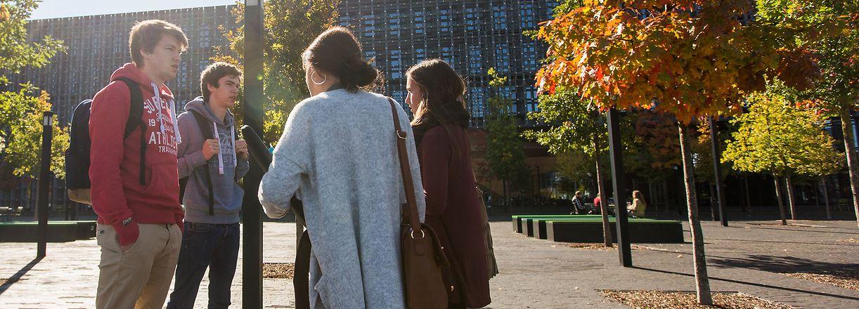 Uni Belval, Université, Universität, Studenten, Etudiants, Uni.lu, Foto Lex Kleren