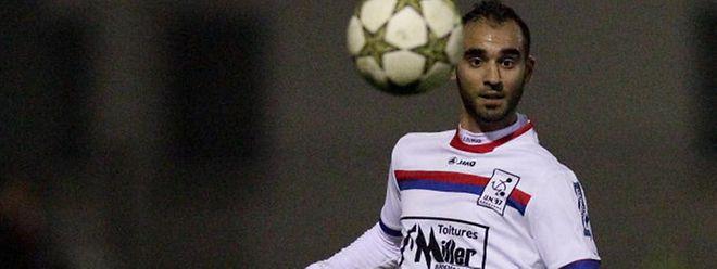 Stéphane da Cruz, ici sous le maillot de Käerjéng, va tenter de se relancer au RM Hamm Benfica.