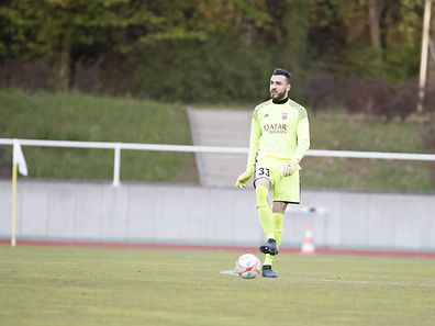 Emanuel CABRAL (Fola 33) / Fussball, Coupe de Luxembourg, Halbfinale, Fola - RFCUL / 26.04.2017 / Esch-Alzette / Foto: Christian Kemp