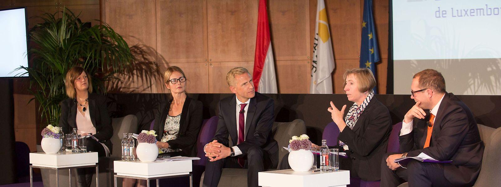 Pour la représentante du ministère de l'Econmie, Marie-Josée Ries, la transposition de la directive européenne devrait s'accompagner de la création d'un médiateur de la consommation