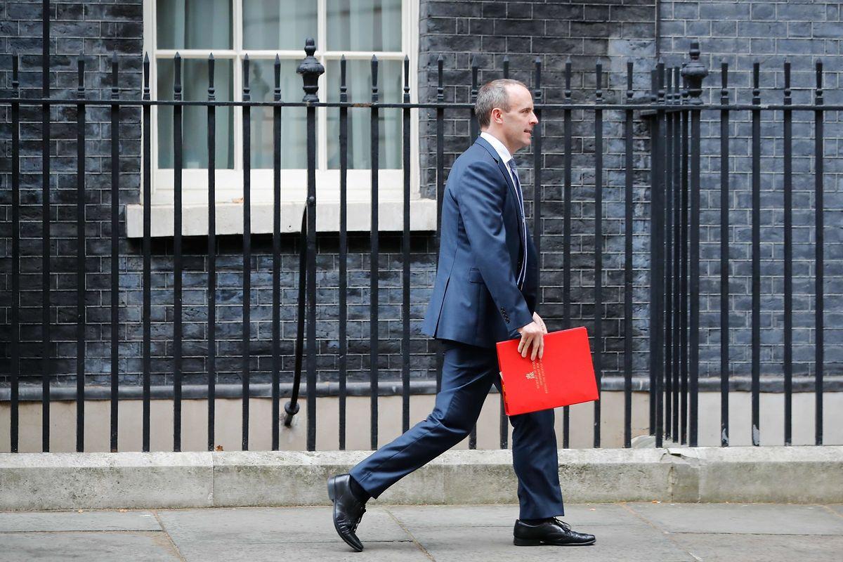 Zurückgetreten: Der  Brexit-Minister Dominic Raab warf May unterdessen eine schwache Verhandlungsführung vor.
