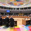 Twenty Three EU member states sign the notification on Permanent Structure Cooperation (PESCO) on the margin of a foreign affairs council at the European Council in Brussels on November 13, 2017.  / AFP PHOTO / EMMANUEL DUNAND