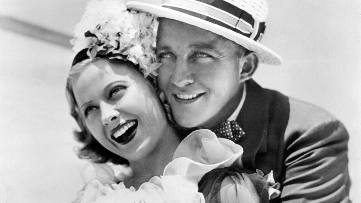 """Mary Carlisle 1937 in dem Streifen """"Double or Nothing"""" an der Seite von Bing Crosby."""