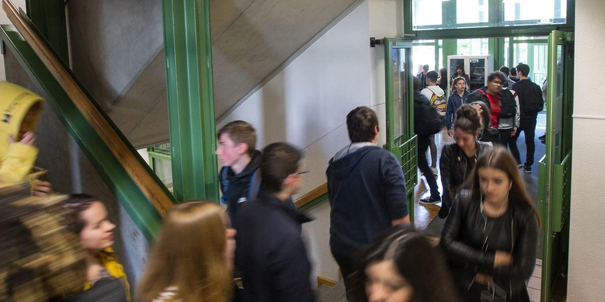 """Ab diesem Herbst steht für alle Sekundarschüler das neue Fach """"Leben und Gesellschaft"""" auf dem Stundenplan."""