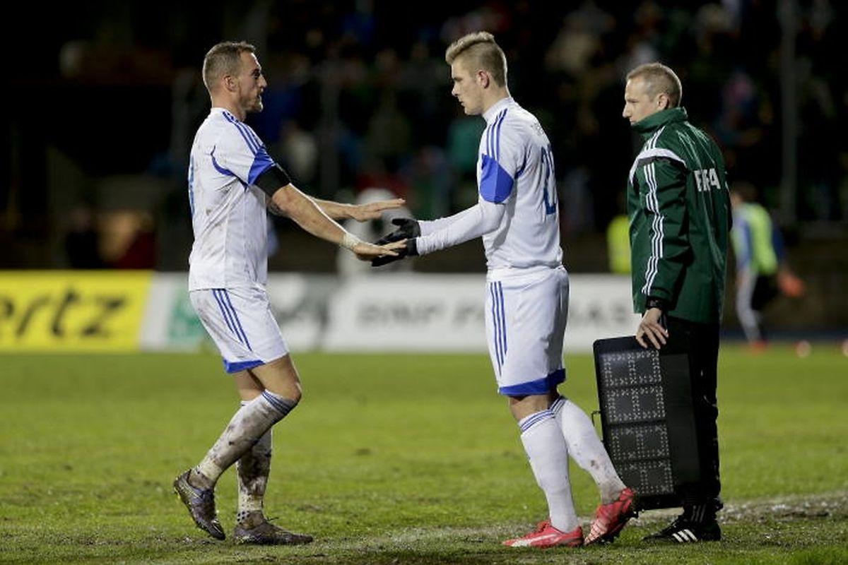 Turpel remplace Joachim contre le Portugal. C'est arrivé à quatre reprises.